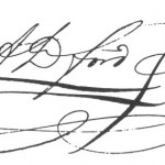 If you have an artistic signature like this one you better practice it in Mexico. It should be the same each and every time!