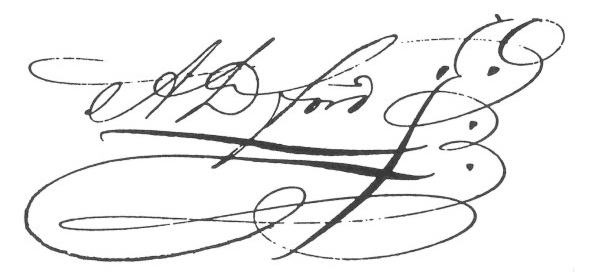 if you have an artistic signature